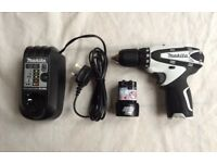 MAKITA CORDLESS DRILL 10.8 VOLT FOR SALE ,USED ONLY ONCE,PICK UP MY HOME ADDRESS, £89, NO OFFERS,THX