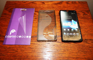 Sony Xperia Ion LTE - 2 Gel Cases + 2 Screen Protectors