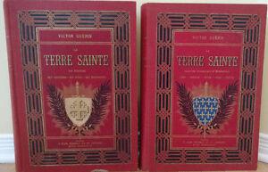 Livre Antique La Terre Sainte Edition 1884