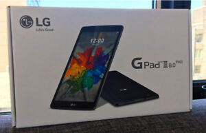 """LG GPad 3 III 8"""" 16GB LTE tablet sealed in box with invoice"""