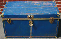 Vintage Blue Trunk / Chest