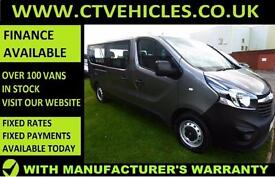 2016 16 Vauxhall VIVARO COMBI 1.6 CDTi ecoFLEX BiTurbo 2900 LWB Start/stop BUS