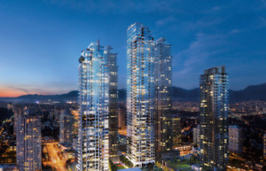 Station Square Brand New One Bedroom at Metrotown Burnaby