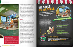 RITA'S Italian Ice - Franchise Area Development Opportunity Kitchener / Waterloo Kitchener Area image 7