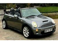 2005 MINI Convertible 1.6 Cooper S 2dr Superchared Convertible *SAT NAV*LEATHER*