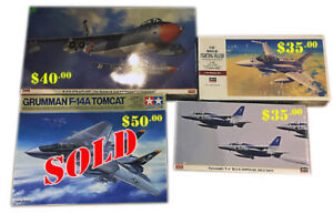 Four Model Air-plane Kits ( Sold Separate)