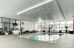 Condo 1BR for Rent in Griffintown, Parking, Pool, Gym