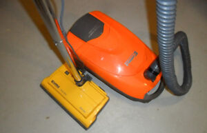 Kenmore canister vacuum Advanced Allergen Filtration