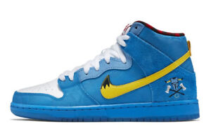 Nike shoes blue and yellow size 11 150 obo