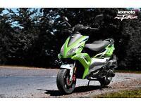 Lexmoto Matador 125cc Scooter Moped Twist & Go Learner Legal