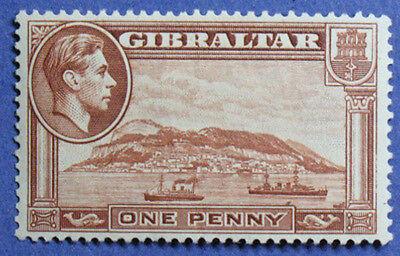 1940 GIBRALTAR 1d SCOTT# 108b S.G.# 122a UNUSED CS01251