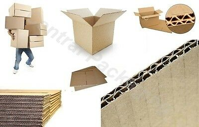 20 NEW DOUBLE WALL cardboard house moving packing boxes removal 18x18x12""