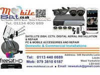 Satellite dish / tv aerial / sky dish/ CCTV / TV wall mounting / installation repair cable 24/7