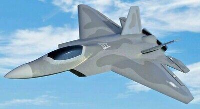 RC JET F-22 Raptor RC Smart Plane W/ Gyro Stabilization Park Flyer 2.4ghz RTF  comprar usado  Enviando para Brazil