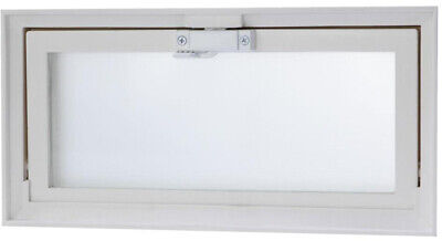 Replacement Hopper (Hopper Vent Screen Basement Window 15.75 X 7.74 Thick Privacy Glass Replacement )