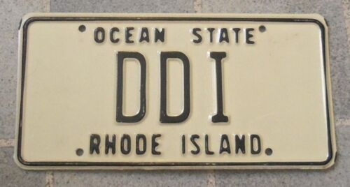 RHODE ISLAND~DDI~OCEAN STATE~LICENSE PLATE~TAG