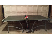 Butterfly slimline indoor table tennis table green (from John Lewis)