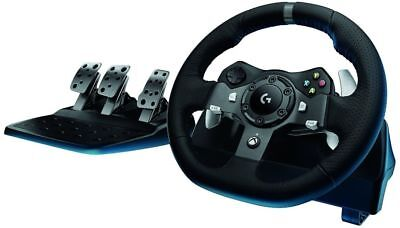 Logitech G920 Driving Force Racing Wheel and Pedals for XBOX ONE and PC (IL/R... segunda mano  Embacar hacia Argentina