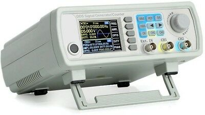 Upgraded 30mhz Dds Dual-channel Signal Generator Source Frequency Meter Counter