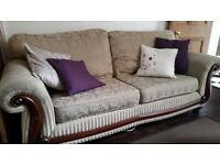 Sofa - 3 Seater & 2 armchairs