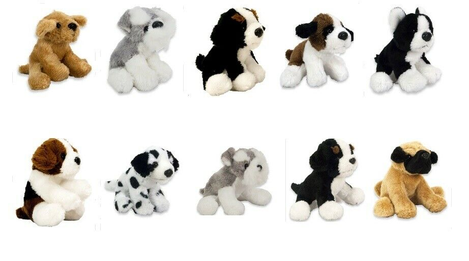 Kuscheltier Stofftier Plüsch  Hund Hündchen Auswahl