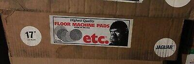 5 Etc Gorilla Cleaning Pads Floor Machine 17 Jaguar