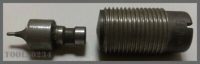 Roper Whitney No. Xx Type O Round Punch Die Set For Hand Punch - 116 .063