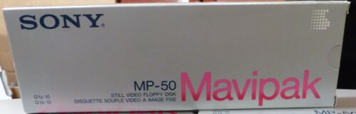 Sony Mavipak MP-50/10MP-50 Video Floppy Disk (1 box = 10 disk per pack)