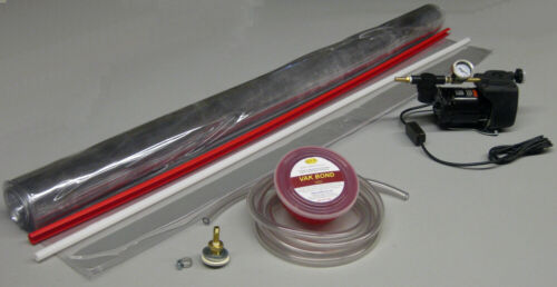 Electric vacuum veneering and laminating system with 5