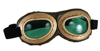 Aviator Goggles Motorcycle Tank Steampunk Amelia Earhart - Kostüm Aviator Goggles