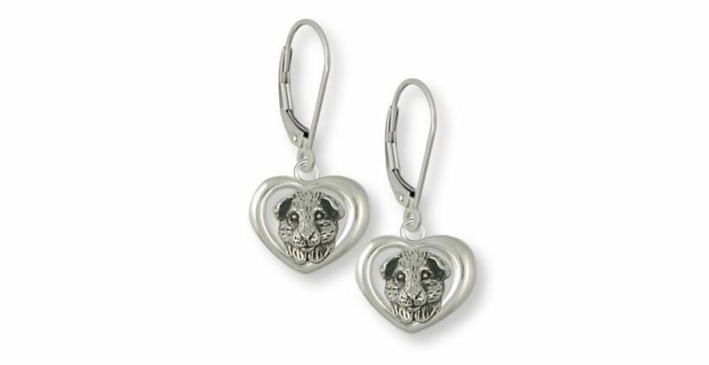 Guinea Pig Earrings Jewelry Sterling Silver Handmade Piggie Earrings GP4-E