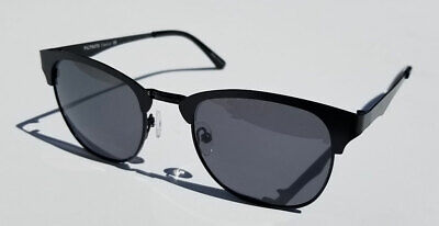 FILTRATE Gaston Sunglasses- Black Alloy Frame  -Grey Polarized Lens- NEW+ (Filtrate Sunglasses)