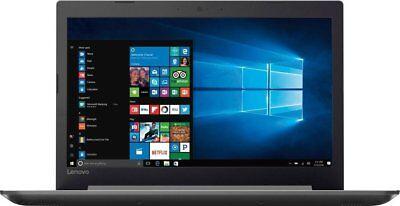 """New Lenovo 320 15.6""""HD QuadCore A12-9720P 3.6GHz 8GB DR4 1TB Radeon R7 DVDRW W10"""
