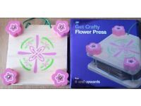 Boots Get Crafty Flower Press, NEW
