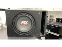 Mtx Audi sub and box