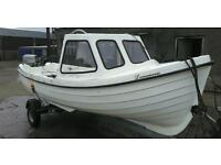 Boat for sale 16.5ft 17ft Orkney style sea otter