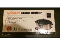 6 Quart stone heater brand new in box
