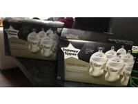 Tommee tippe new milk bottles from birth