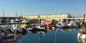 Brighton Marina Floating Studio
