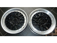 2 x 17'' Genuine BBS RC041 Alloy wheels for BMW