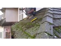Gutter Clearing, Roof Cleaning, Fascia and Soffet Cleaning, Gutter and roof repairs.
