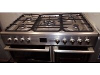 LEISURE DUAL FUEL COOKING RANGE 90CM WIDE FREE DELIVERY AND WARRANTY