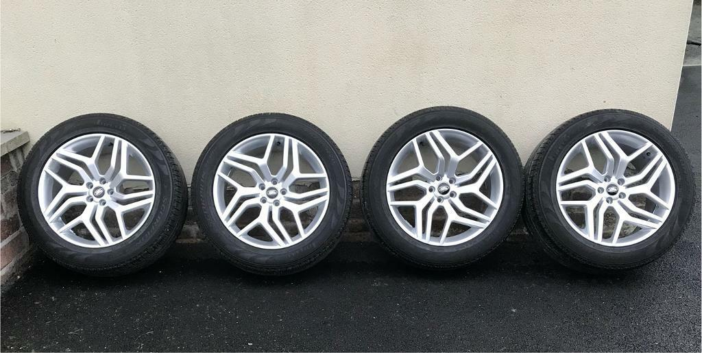 Range Rover Evoque Wheels and Tyres