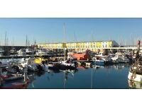 Brighton Marina Floating Studio Summer Let