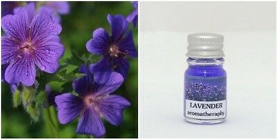 1PC.LAVENDER AROMA ESSENTIAL OIL FOR DIFFUSER AND SPA BATH AND CANDLE LAMP