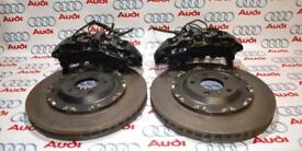 VW AUDI R8 A8 Front 8 Pot Brembo Brake Caliper & Disc Set