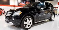 2010 Mercedes-Benz ML550 AMG SPORTS PKG -- BLACK ON BLACK -- CAN