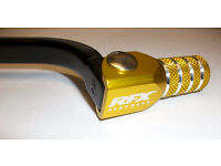 DRZ 400 S E SM 00-13 Forged Trick Gear Lever Pedal Black/Yellow Tip Enduro