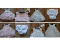 2 x Mothercare Special Occasion Dresses 1 mth & 3mth **BNWT** Baby **From a smoke free clean home**