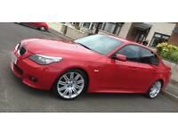 09 Bmw 520d msport imola red